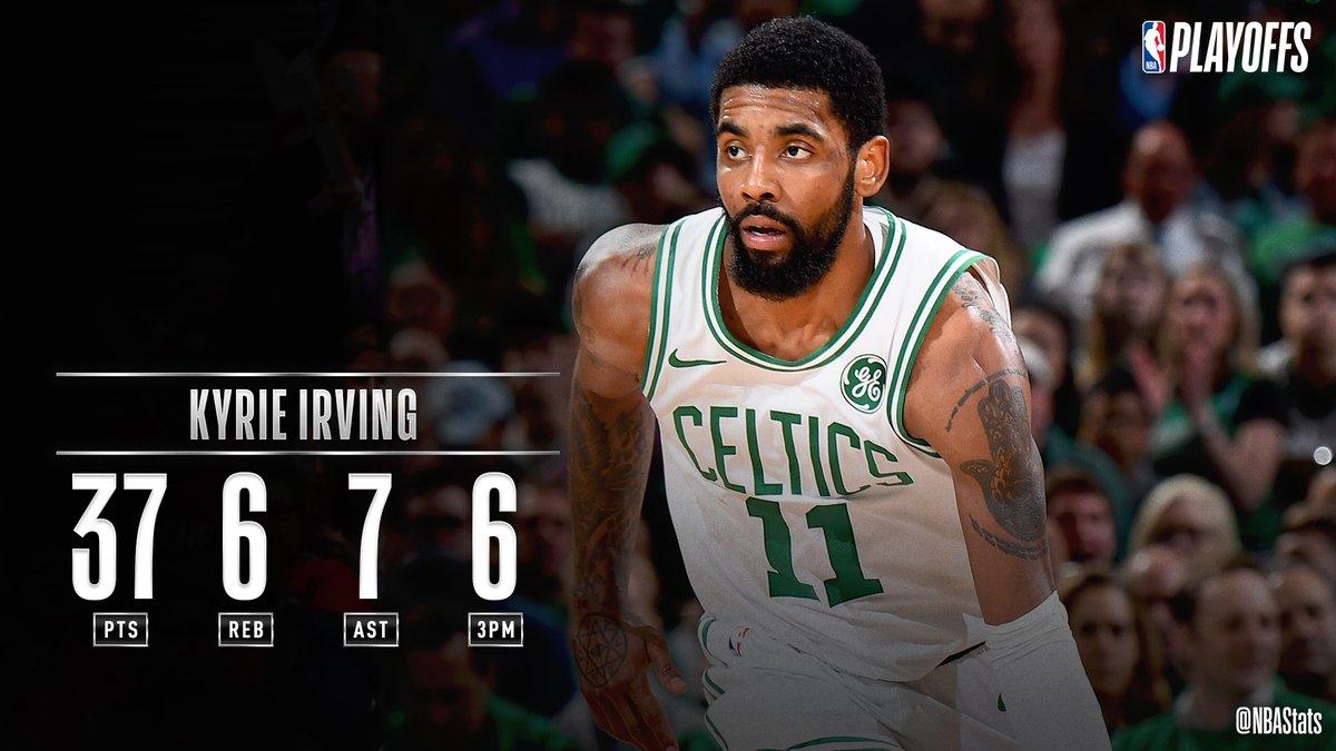 NBA民间评选今日最好数据:欧文37+6+7被选
