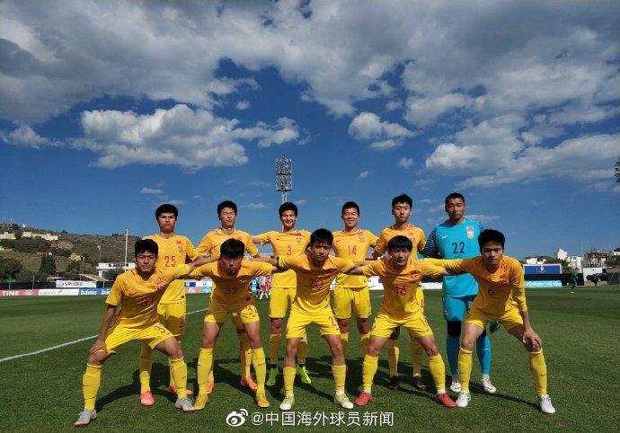 热身:U18国青队2-5不敌荷甲布雷达U19梯队