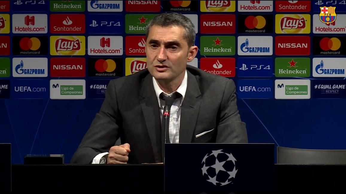 巴尔韦德:我还记得去年巴萨3球领先被罗马淘汰