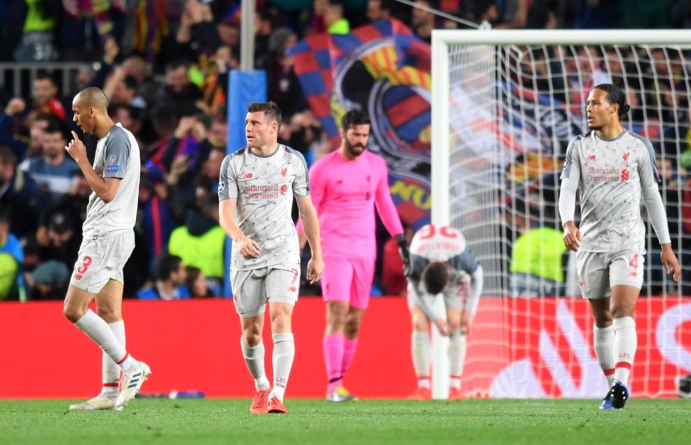 利物浦本赛季欧冠已输四场,超其他赛事总和