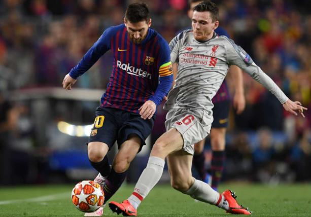 罗伯逊:梅西是世界最佳球员,我们对他的防守做得不错