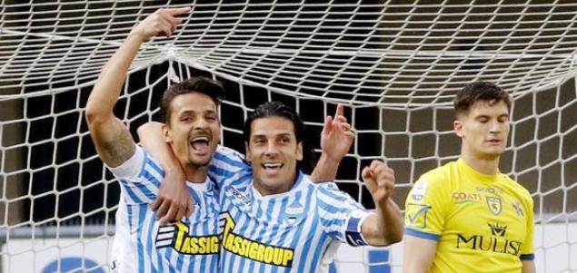 意甲:马蒂奥尼梅开二度,切沃0-4斯帕尔