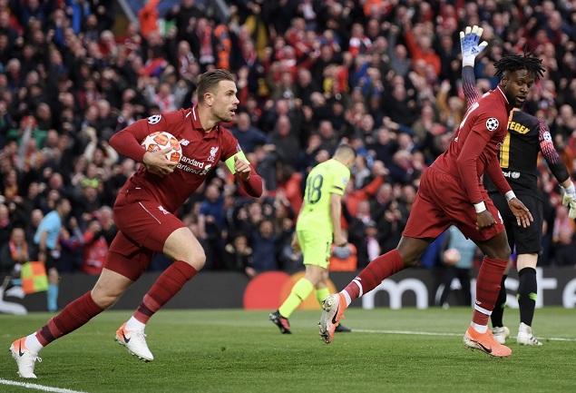 半场:奥里吉补射破门阿利松救险,利物浦1-0巴萨