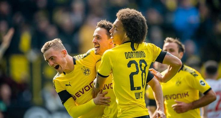 多特本赛季德甲取得 14场胜利, 战绩最好