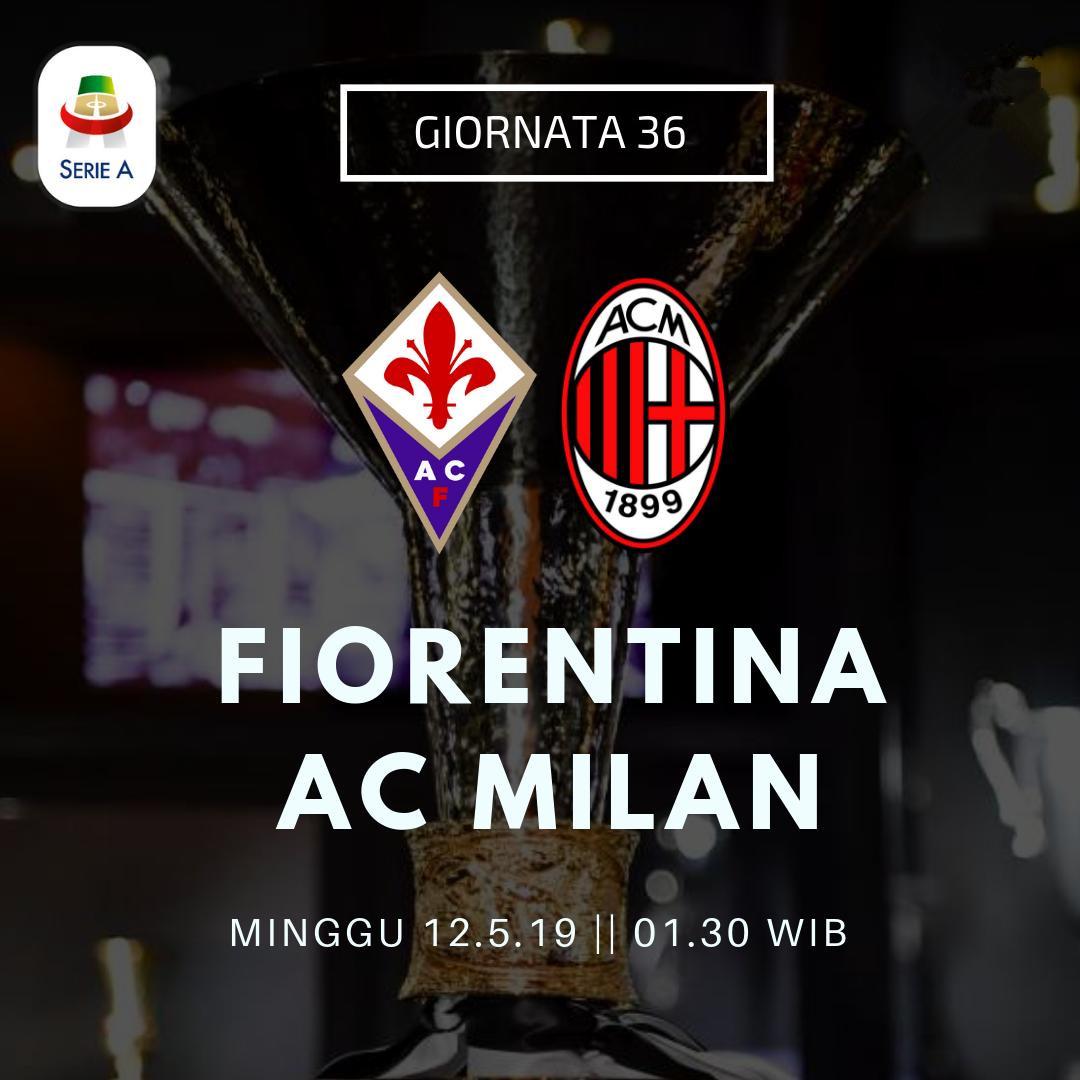 佛罗伦萨vs米兰:基耶萨皮亚特克领衔,巴卡约科出战