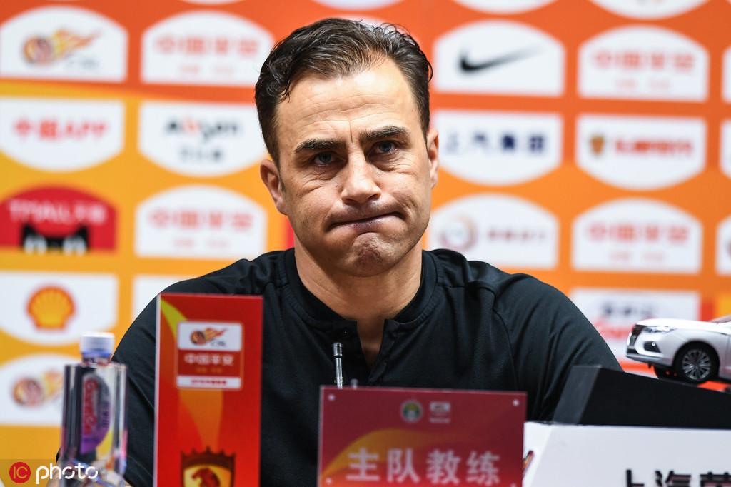 卡帅:不清楚郜林黄博文情况,需要一个能进20球的前锋