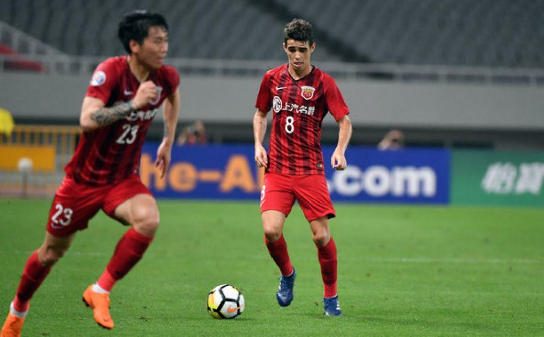 亚足联发布亚冠助攻榜:奥斯卡暂居并列第一于汉超前十