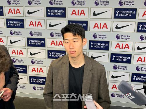 孙兴慜:想着韩国球迷半夜起床为我加油,感到了责任