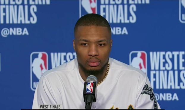 利拉德:我们的防守执行力糟糕,对手像是在投篮训练