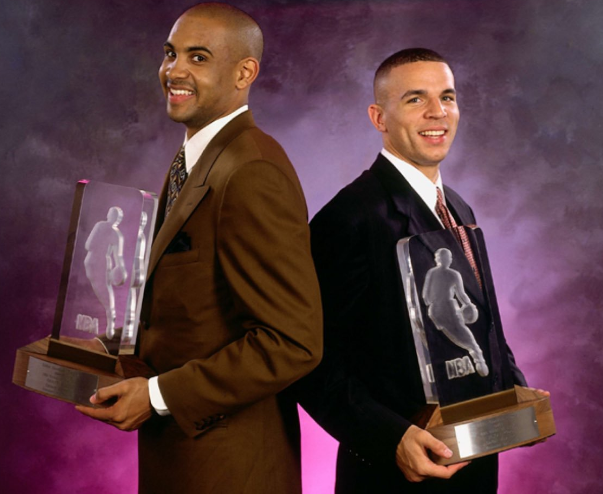 24年前的今天:基德与希尔同获最佳新秀