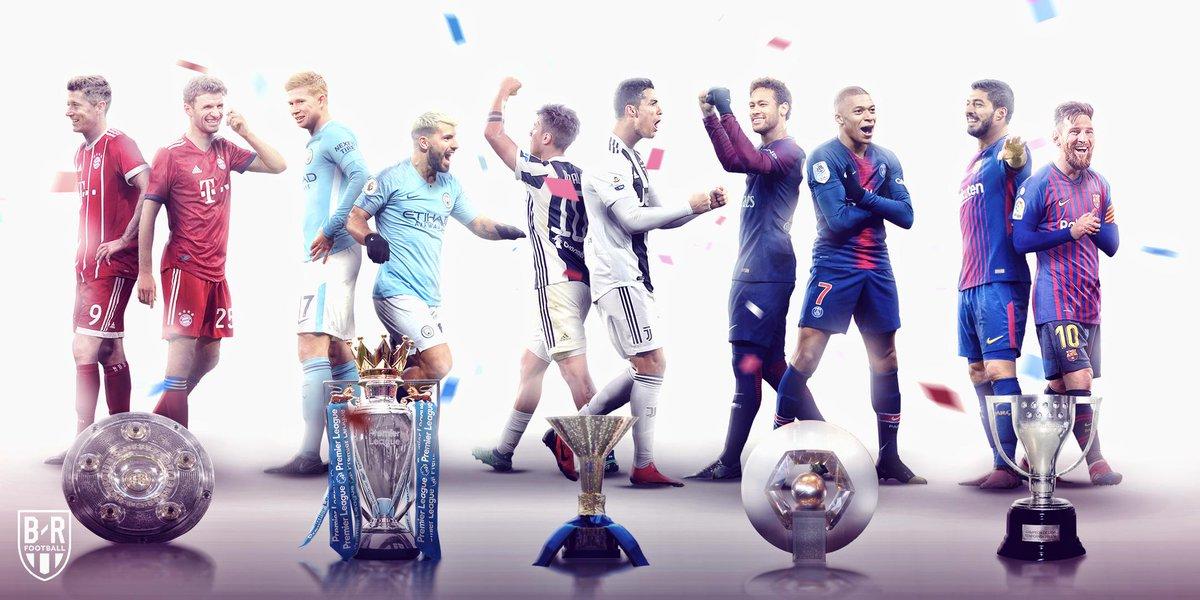 宣示主权!五大联赛去年的冠军全部实现卫冕