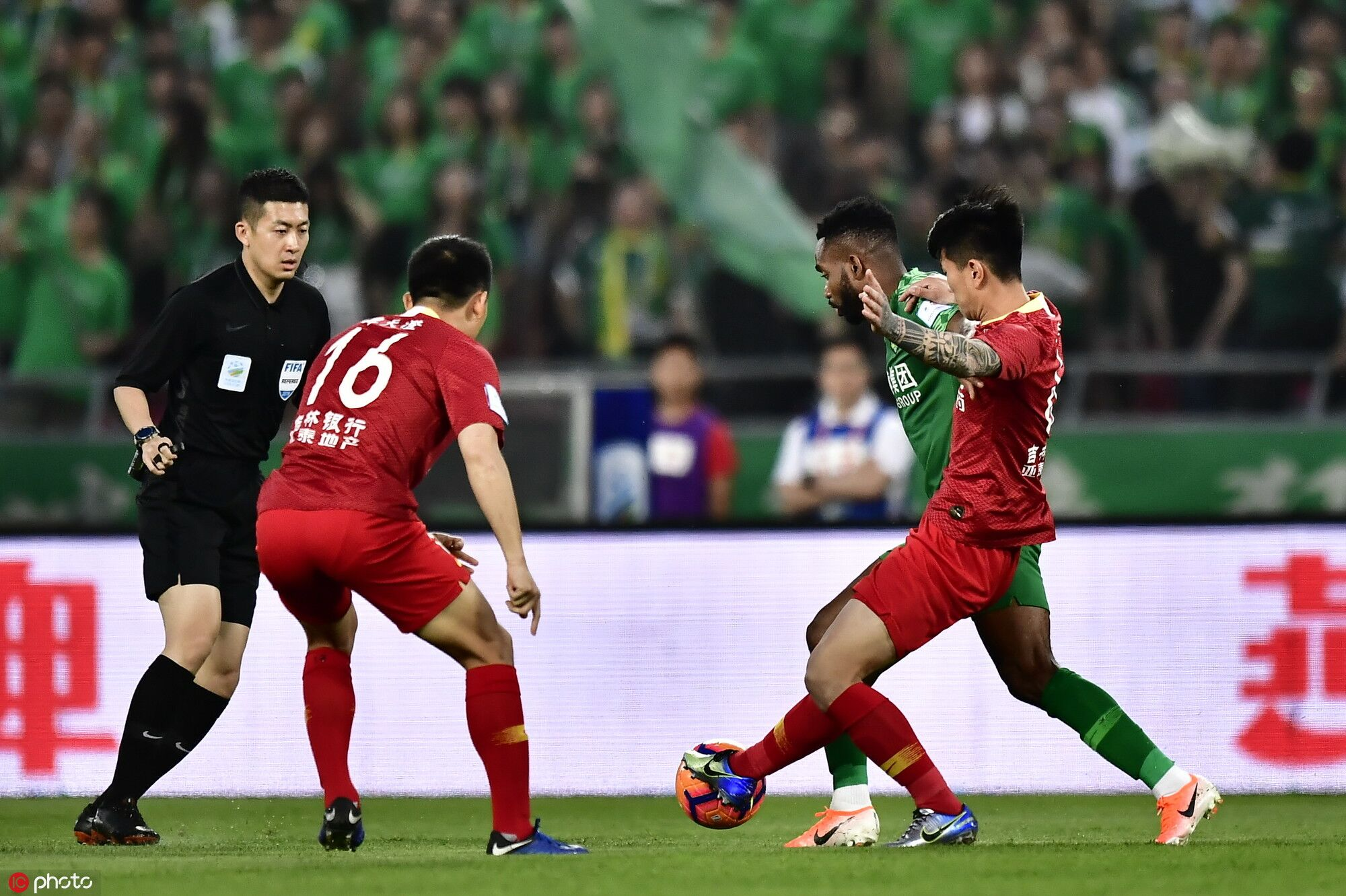 足协杯:侯永永于洋巴坎布破门,国安3-1亚泰
