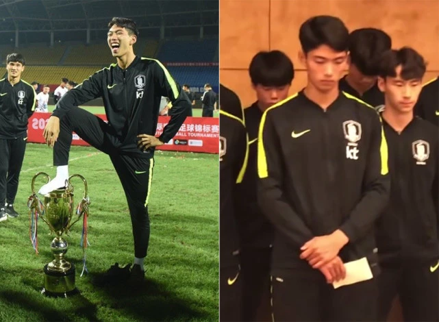 韩国U18后卫朴规现租借加盟不莱梅,曾踩踏熊猫杯奖杯