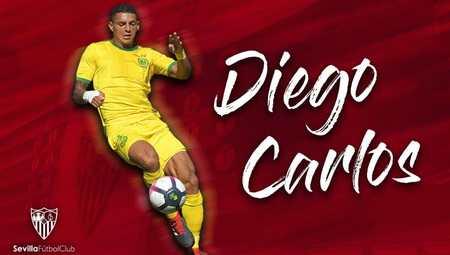 塞维利亚官方:球队签下南特后卫迭戈-卡洛斯