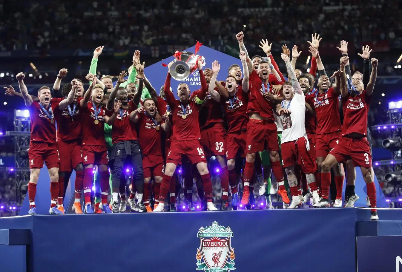 撒花!利物浦的夺冠巡游路线在决赛前就已经确定