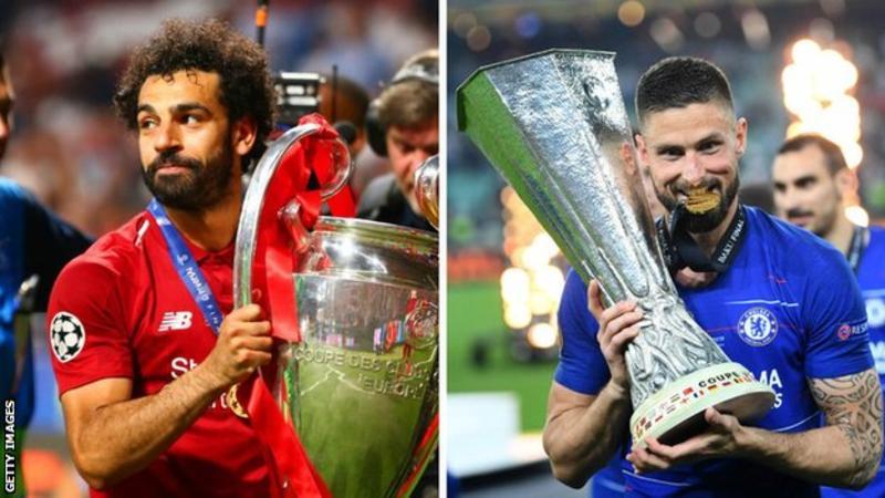 欧洲超级杯日程已定:8月14日利物浦迎战切尔西