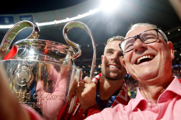 父亲:小时候亨德森就说要踢欧冠决赛,我真为他高兴