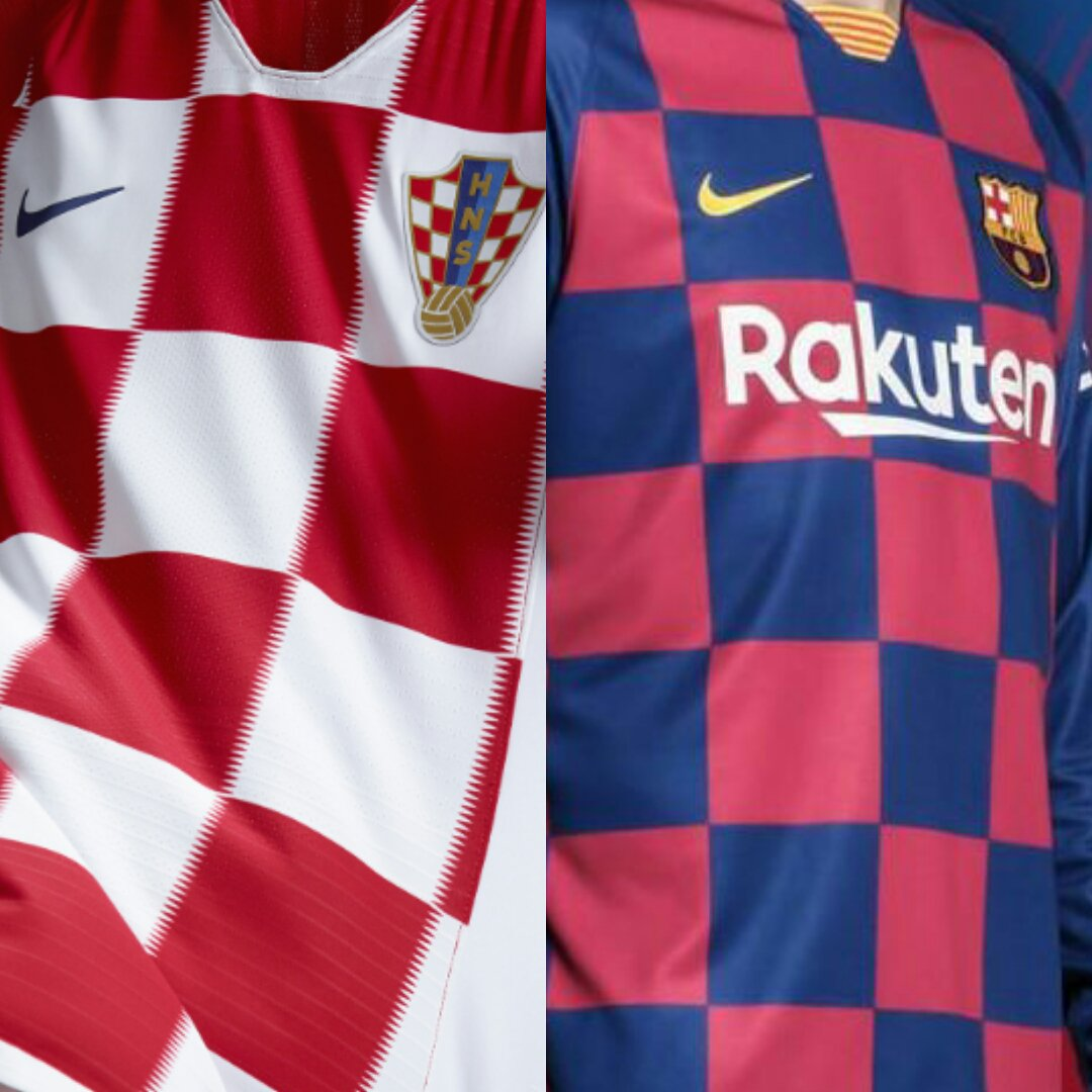 克罗地亚官推调侃巴萨新球衣:拉基蒂奇必定会爱的
