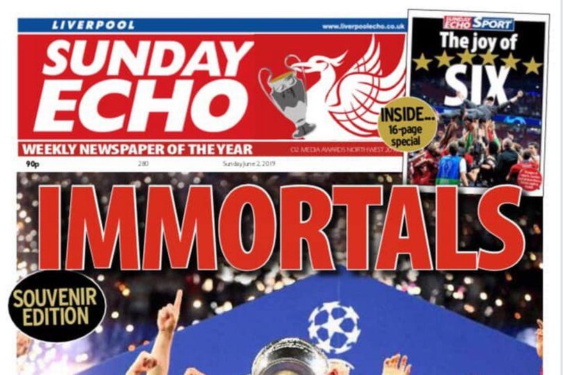 一报难求!红军夺欧冠当日回声报价格被炒至7英镑