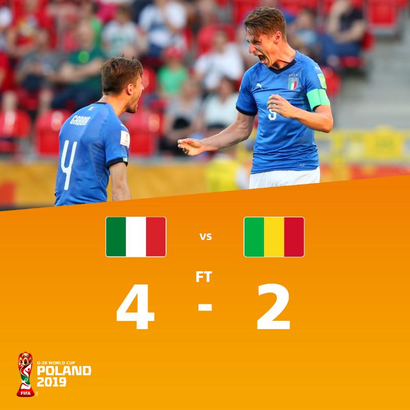 乌克兰、意大利会师世青赛半决赛, 皮纳蒙蒂 5场 4球