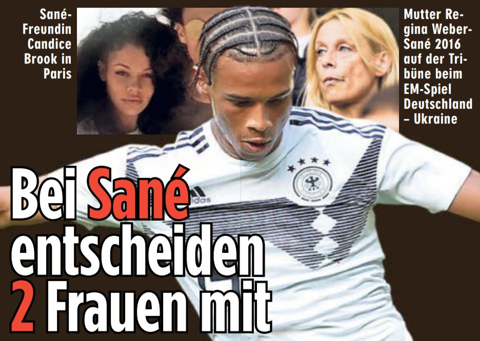 原来是婆媳问题啊!萨内母亲想他回德国, 女朋友想留英国