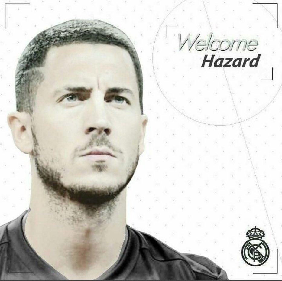 官方:皇家马德里宣布签下切尔西边锋阿扎尔,签约五年