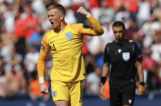 欧国联:皮克福德扑点, 英格兰点球 6-  5瑞士获季军