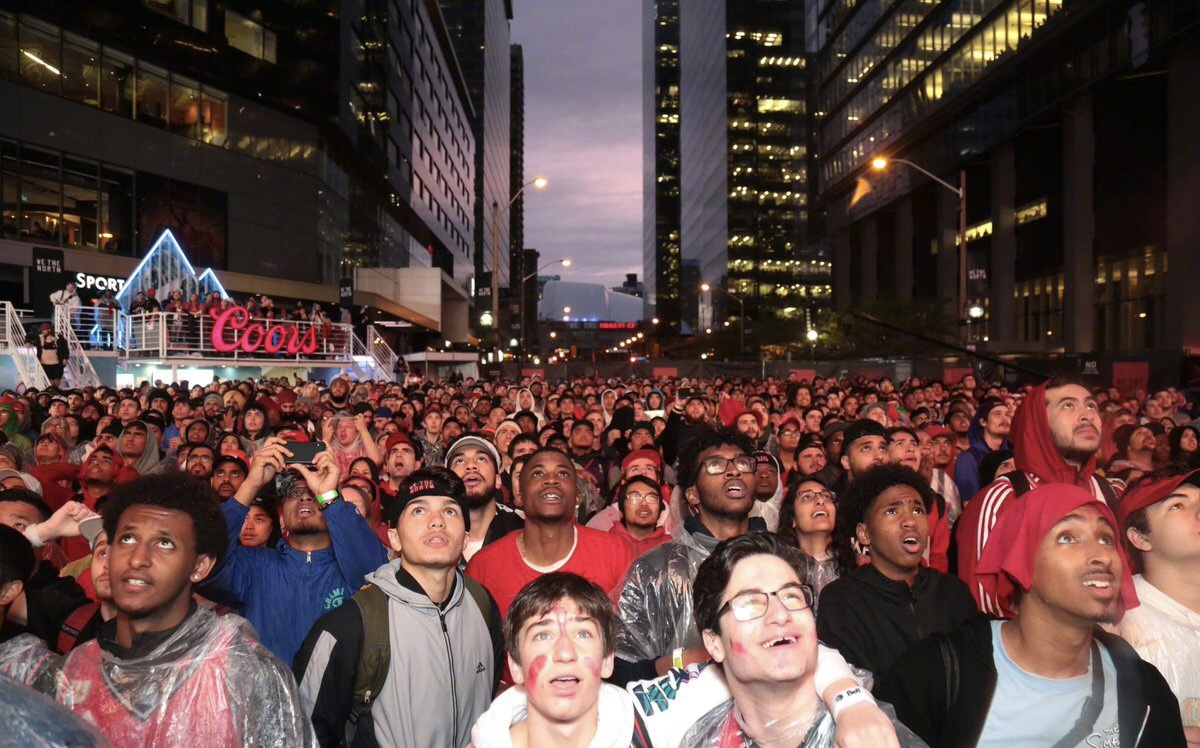 目前已经有一半的加拿大人口观看过今年NBA总决赛