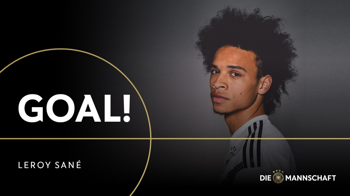 GIF:萨内终于收获进球,德国8球领先喜欢沙尼亚