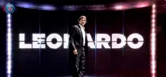 官方:莱昂纳多出任巴黎体育总监