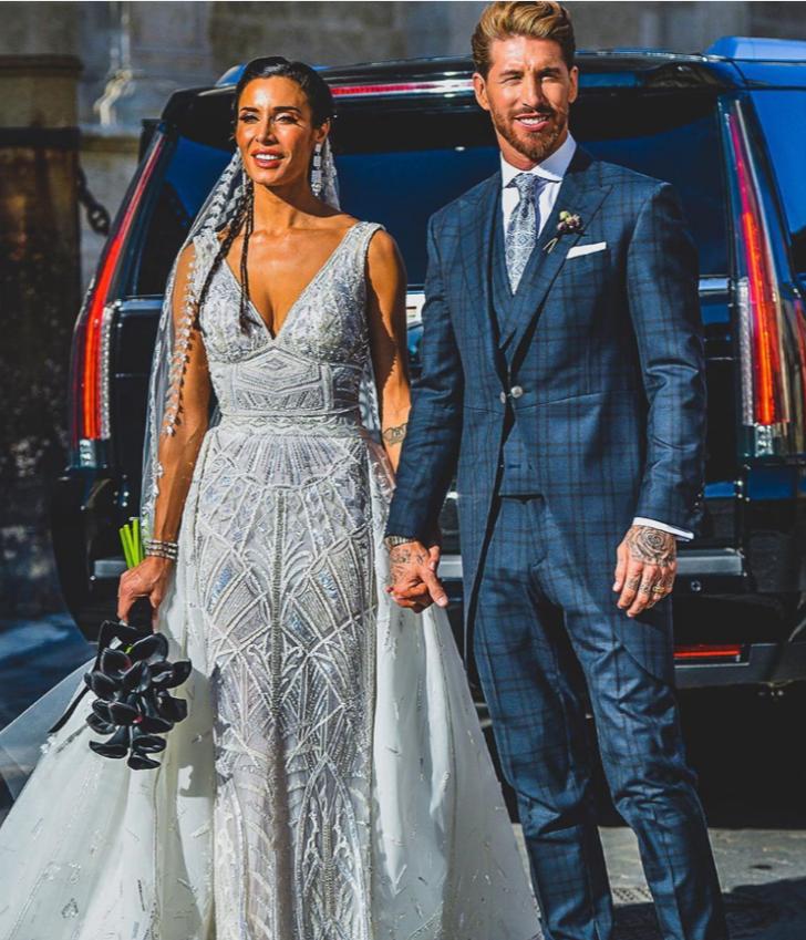 多图流:拉莫斯周六大婚,众多球星到场庆贺