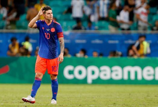 J罗:开局做得很不错,阿根廷是最强的对手之一