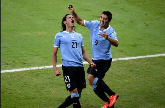 WhoScored乌拉圭vs厄瓜多尔评分:苏牙传射,全场最高