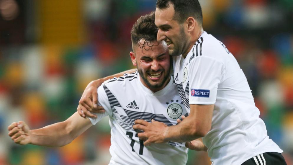 梅开二度助德国U21开门红!奥格斯堡幼将:感觉专门棒