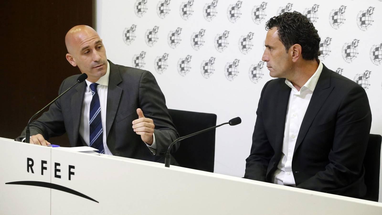 有事宣布?西班牙足协主席将与国家队总监举行新闻发布会