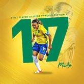 厉害了!玛塔世界杯已进17球,超越克洛泽成世界第一