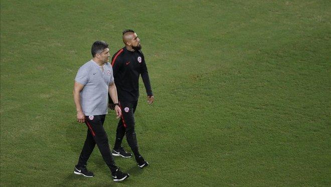 比达尔未与球队一起训练,或无缘对阵厄瓜多尔的比赛