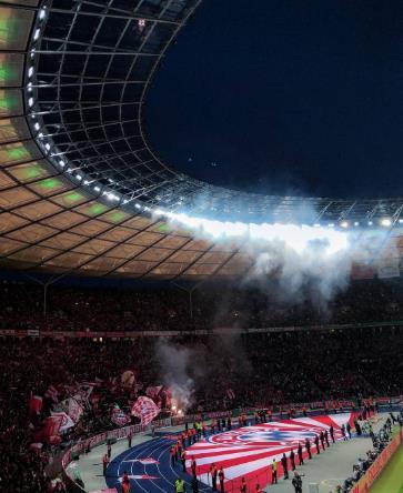 又罚款!拜仁因球迷在德国杯决赛放烟火遭处罚