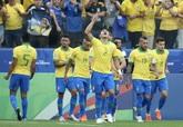 美洲杯:菲尔米诺埃弗顿齐传射,巴西5-0秘鲁头名出线