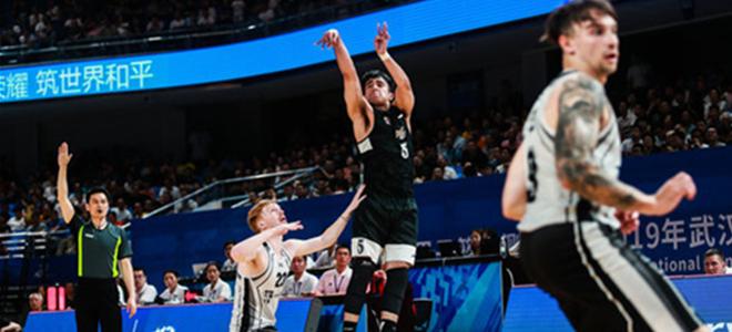军运会男篮测试赛八一击败立陶宛队取得两连胜