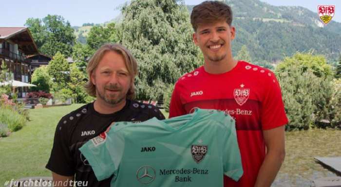 官方:斯图加特租借签下瑞士门将科贝尔