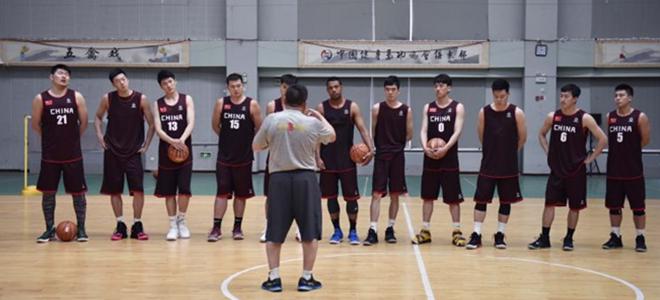 中国大学生男篮进行首次全员集训,全力备战大运会