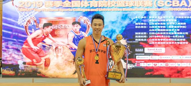 贺希宁率武体登顶SCBA:冠军便是战斗的理由