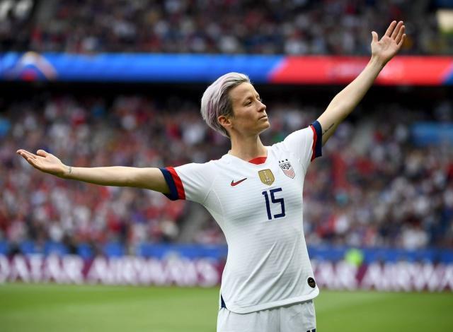 女足世界杯:美国女足2-1法国女足,半决赛将战英格兰