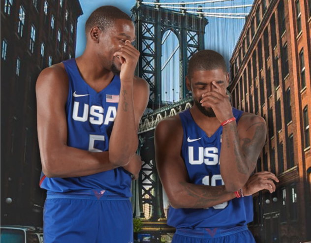 FIBA官方更新Ins晒出杜兰特与欧文国家队时合照