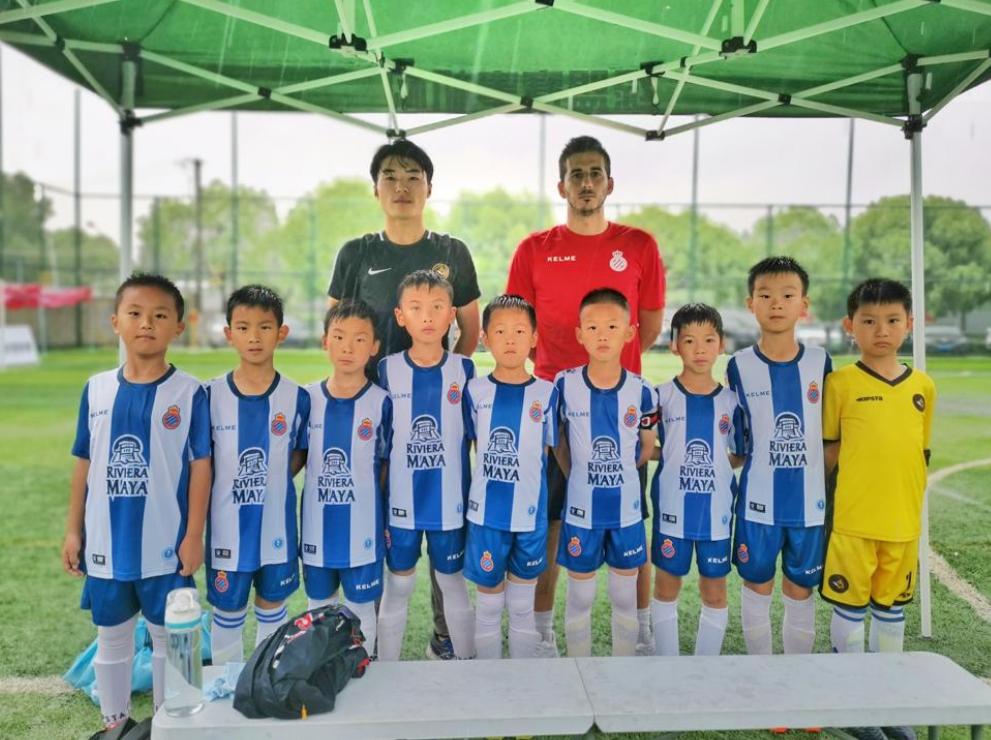 满怀期待与梦想,西班牙人上海足球学校正式开课