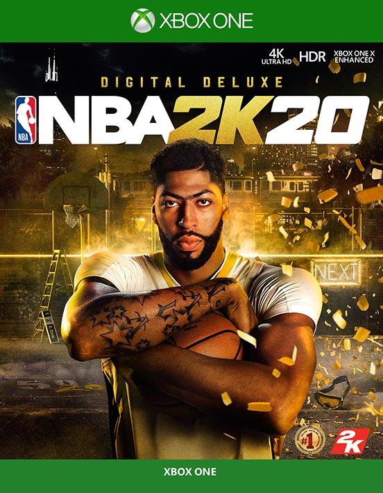 安东尼-戴维斯将在2K20游戏正式封面中身穿湖人球衣