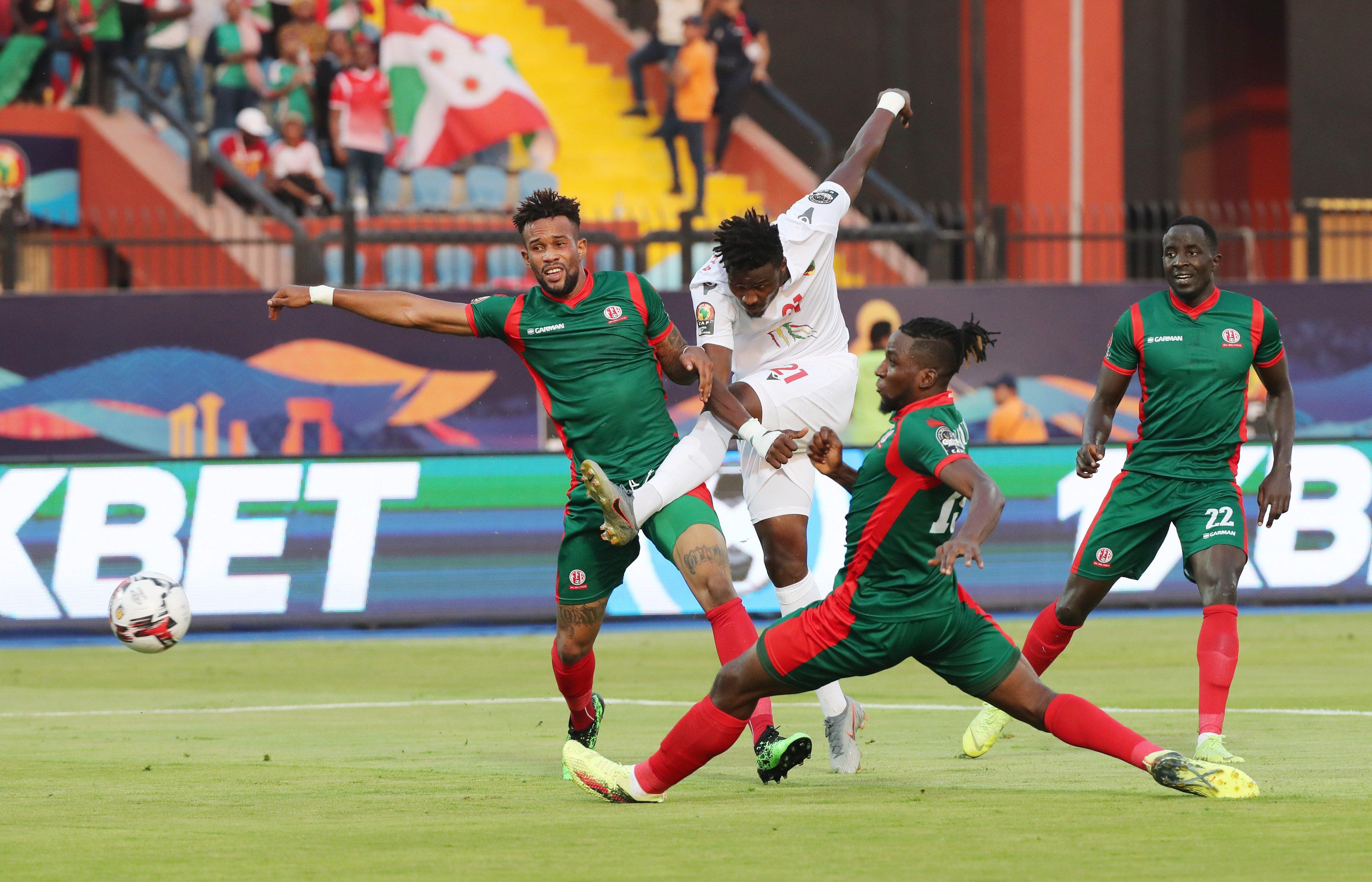 纳比-凯塔伤缺,非洲杯几内亚2-0完胜布隆迪晋级
