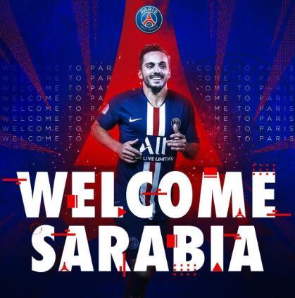 官方:上赛季西甲助攻王萨拉维亚加盟巴黎
