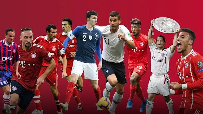 一图流:从帕潘到卢卡斯,拜仁队史的9位法国人